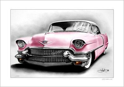 1956  Pink Cadillac       Limited Edition