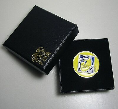 FOOTBALL SOCCER Referee Toss Coin Disc in Gift Box