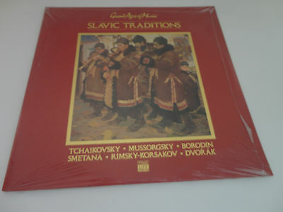 SLAVIC TRADITIONS Great Ages of Music LP (Time Life Music) 2 Set- New/Sealed