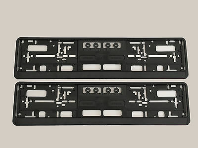 2x Support de plaque d'immatriculation OPEL KIA BENZ BMW VW AUDI MAZDA AMG FORD