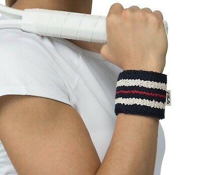 Fila Retro Tennis Wristbands Navy
