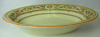 ROYAL DOULTON china GLOUCESTER v1827 pattern Oval Vegetable Serving Bowl - 9""