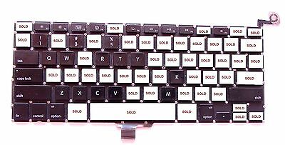 Apple MacBook Pro Unibody A1278 A1286 A1297 Individual Replacement Keyboard Key