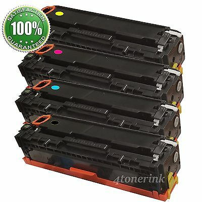 4 Toner Cartridge CF210A 131A Black Color For HP Laserjet Pro 200 M276nw M251nw