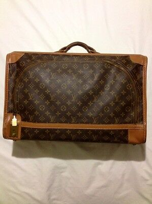 Authentic Louis Vuitton luggage suitcase Vintage monogram canvas brown bag