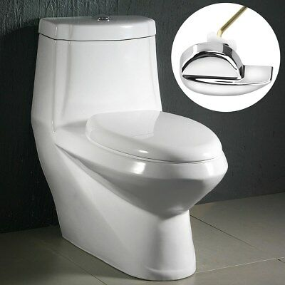 New Angle Fitting Side Mount Toilet Lever Handle for TOTO Kohler Toilet Tank