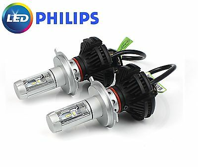 HOLDEN COLORADO RG LED H7 Headlight LED HEAD LIGHT UPGRADE KIT LOW BEAM CANBUS