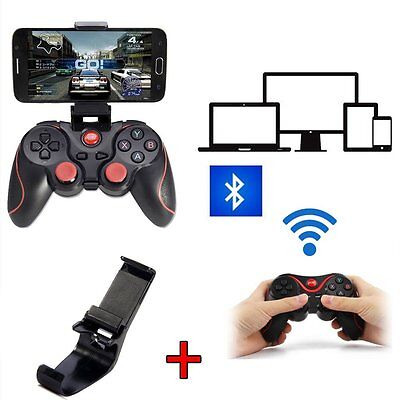T3 Wireless Bluetooth Black Gamepad Gaming Controller for Android Samsung UK