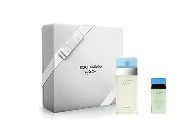 COFANETTO - DOLCE E GABBANA LIGHT BLUE DONNA EDT SPRAY 100 ml + EDT SPRAY 25 ml