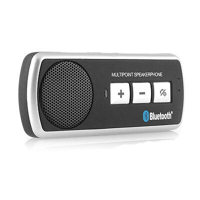 Bluetooth Car Kit Hands Free Speaker Kit Multipoint Samsung Galaxy S7 S6 S5 S4
