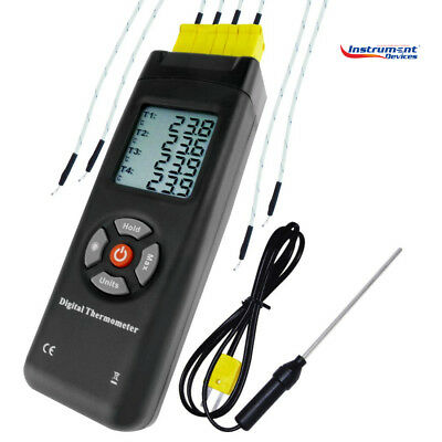 4 Channels Digital Type K Thermocouple Thermometer