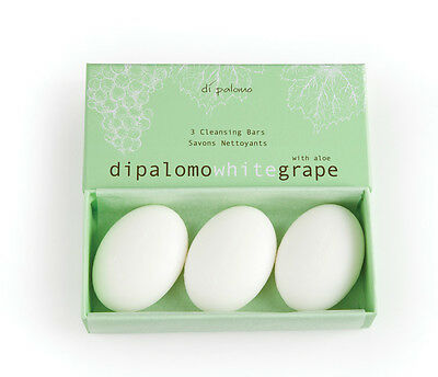 Di Palomo - CLEANSING SOAP BARS X 3 GIFT SET - White Grape With Aloe
