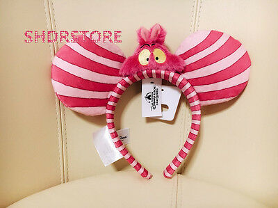 ALICE IN WONDERLAND SHANGHAI DISNEYLAND DISNEY PARK CAT Headband SHDR