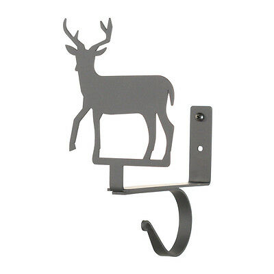 Deer - Curtain Shelf Brackets PAIR 4 3/4 In. x 7 1/2 In. x 6 1/4 In.