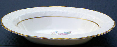 "9 1/2"" X 7"" Rimmed Oval Vegetable Bowl  ~ EMBASSY by POPE GOSSER  ~ ...........&"