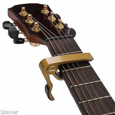 Neewer Music Instrument Single-handed Guitar Bass Trigger Capo Quick Change