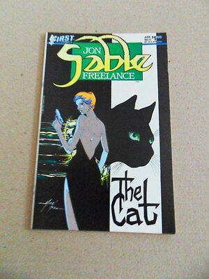 Jon Sable Freelance 11 . Mike Grell - First 1984 -  VF