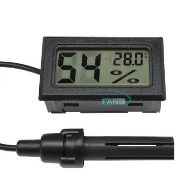 Mini Digital LCD Thermometer Hygrometer Humidity Temperature Meter Indoor Hot