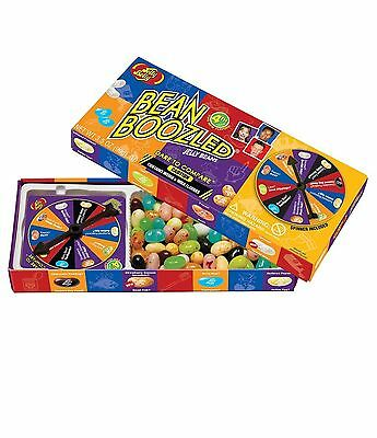 Jelly Belly BeanBoozled Jelly Beans with Spinner Wheel Game 4th Edition NEW F...