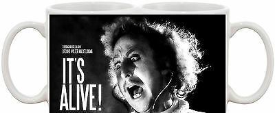 Young Frankenstein Its Alive Dvd Move Inspired Gene Wilder Mug
