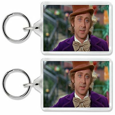 Charlie And The Chocolate Factory Dvd Movie Inspired Gene Wilder Keyring