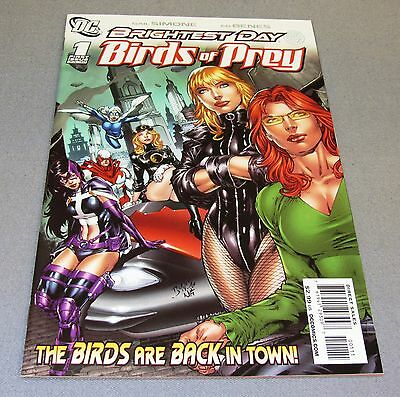 BIRDS OF PREY #1 (White Canary 1st app.) NM 9.4 DC Comics 2010 Brightest Day
