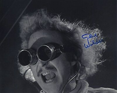 Gene Wilder Signed Autographed Young Frankenstein Bw Photo Wow!!!