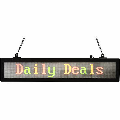 Royal Sovereign LED Scrolling Message Sign Multi RSB1410