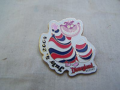 Disney PIN Alice in Wonderland Patriotic CHESHIRE Cat 4th of July 2004 Le 1500