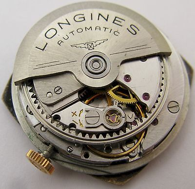 Longines 355 automatic watch movement & dial 17 jewels for parts ...