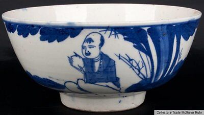 China 20. Jh. Schale - A Chinese Provincial Blue & White Bowl - Cinese Chinois