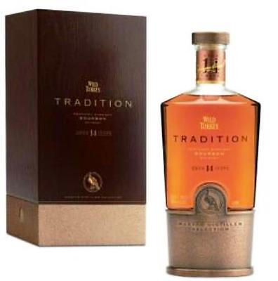 Wild Turkey Tradition 14 Year Old Kentucky Bourbon Whiskey 750ml Limited