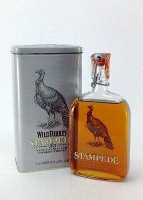 Wild Turkey Stampede Kentucky Bourbon Whiskey 500ml Limited