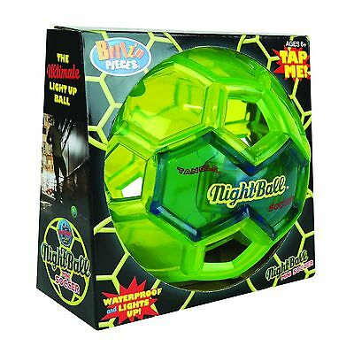 New Britz'n Pieces Tangle Nightball Mini Soccer Ball Bma813 Outdoor Toys