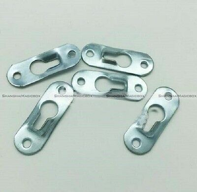20pcs Keyhole Picture Frame Hangers Metal 44mm