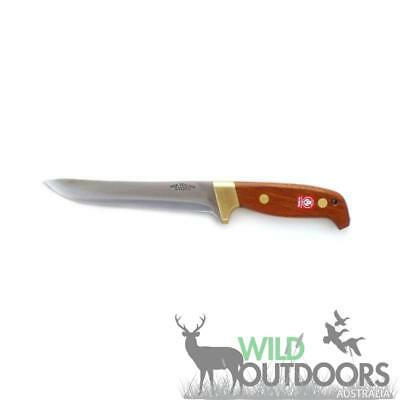 "Svord Knives - DELUXE SPORTING KNIFE - GENERAL PURPOSE 6 1/4"" - Mahogany & Brass"