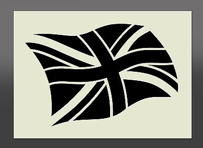 Union Jack Stencil - Various Sizes - Made From High Quality Mylar