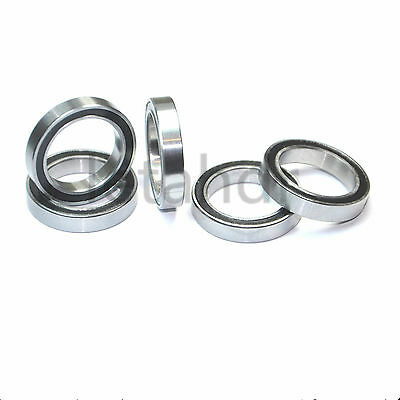5/10/20 pcs Thin-wall Ball Bearing 6700-2RS To 6705-2RS Rubber Shielded Bearings