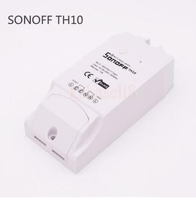 Sonoff TH Temperature Humidity Monitor WiFi Wireless Smart Switch For Smart Home
