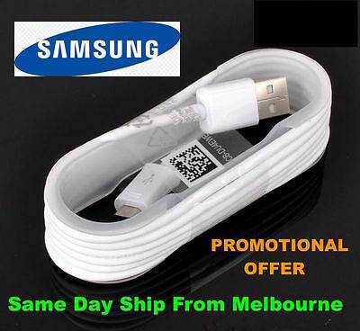 Samsung genuine Micro USB Data Charger Cable Galaxy S4 S5 S6 Edge Mini