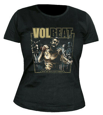 VOLBEAT - Seal the Deal & Let´s Boogie - Cover - GIRLIE - Shirt