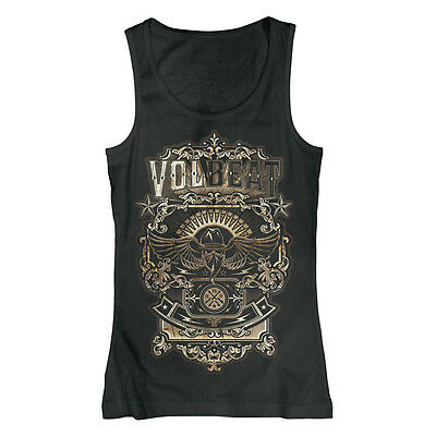 VOLBEAT - Old Letters - Girlie Tank Top