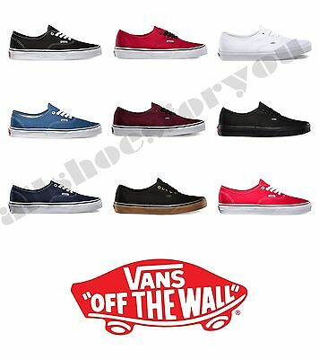VANS CLASSIC AUTHENTIC NEW IN BOX All Sizes 4.5-15  Canvas  Fast Shipping