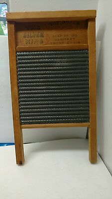 National Washboard Co National No 824 The Silver King Vintage Off Grid Prepper