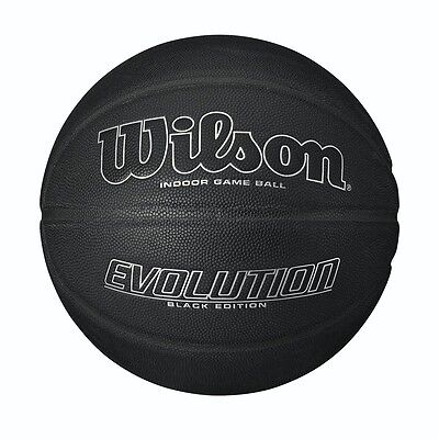 WILSON EVOLUTION BLACKOUT EDITION  Basketball ,  COMPOSITE LEATHER FULL SIZE 7
