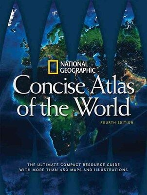 National Geographic Concise Atlas of the World 9781426216602, Paperback, NEW