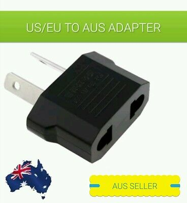 AUS STOCK.US/EU Universal to AU AC Power Plug Adapter Travel 2 pin Converter