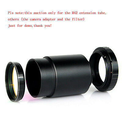 """2"""" Extension Tube for Telescope Eyepiece to T mount M42x0.75 High Quality Newest"""