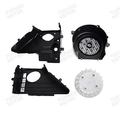 Complete Air Shroud Assembly w/fan for GY6 150cc Engines,Go Kart,Buggy's,Scooter
