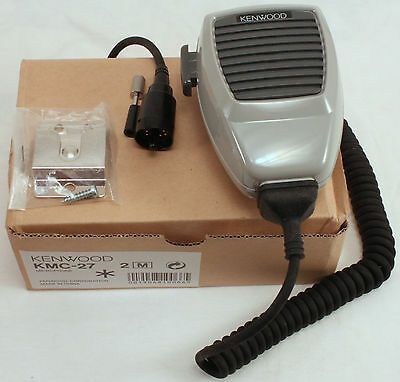 NEW - OEM - Kenwood KMC-27 Noise Canceling Mobile Mic TK690 TK790 TK890 TK5710